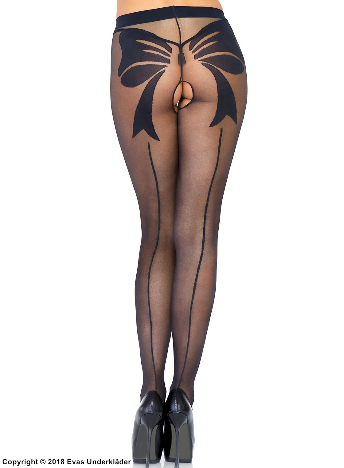 Pantyhose with pattern